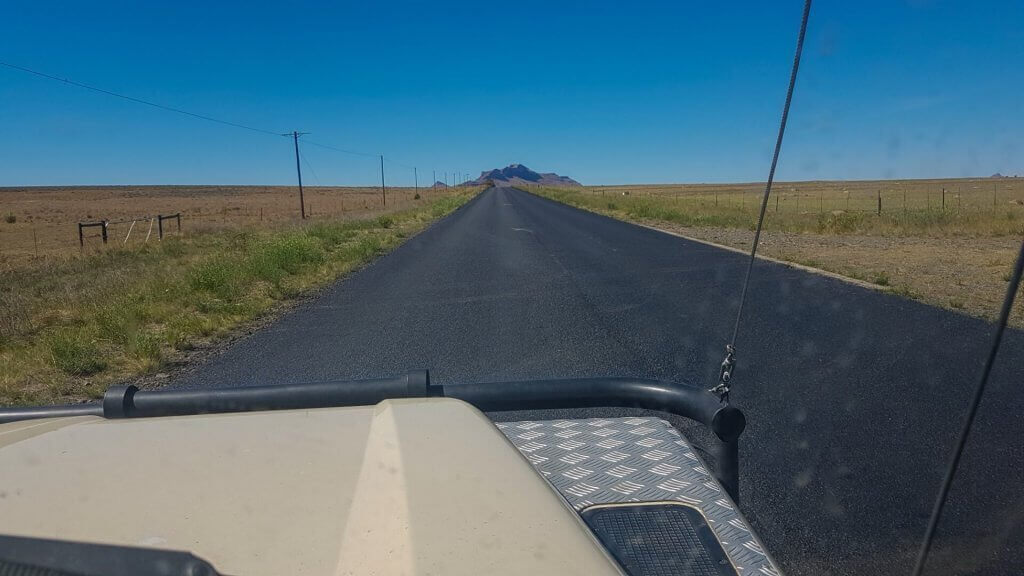 Life Coaching - Change vs Consistency - 4x4 driving on tar road