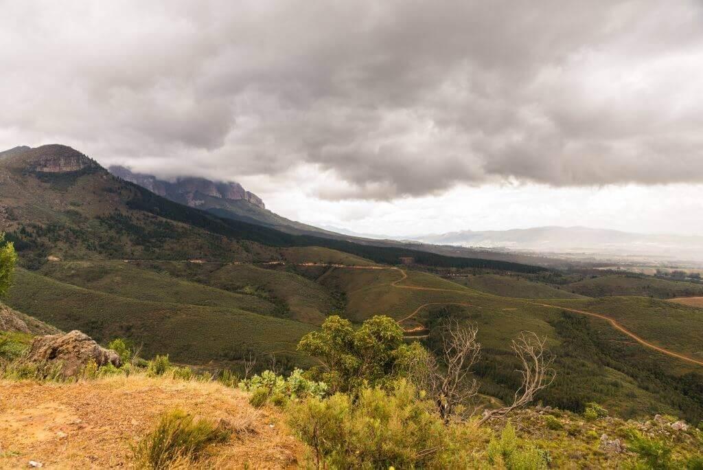 Life Coaching - Road winding through green hills